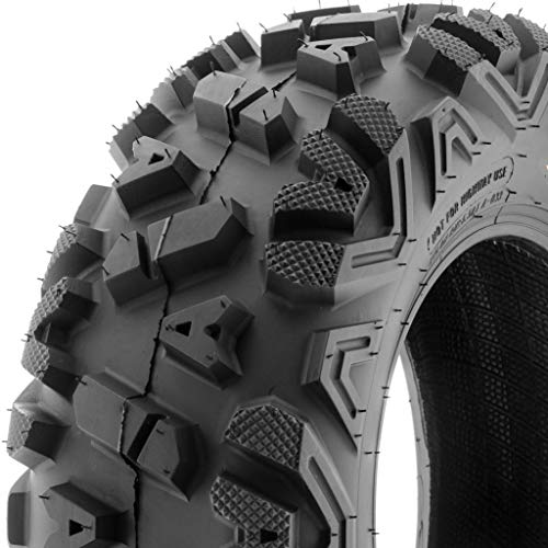 SunF ATV UTV A/T 22x7-12 All Trail 6 PR Tubeless Replacement Tire A033 POWER I, [Single]
