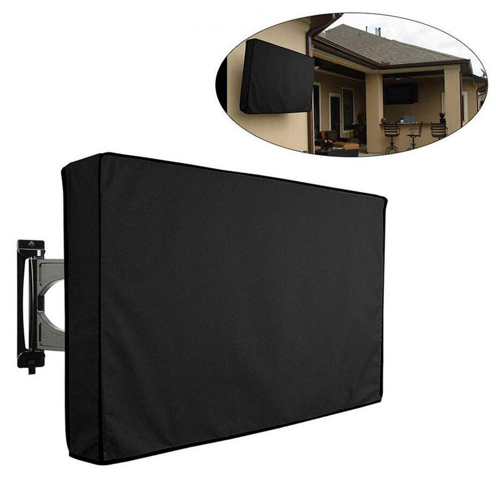SHKY Outdoor TV Cover,Weatherproof Universal Protector,Weatherproof Weather Dust Resistant,Compatible with Standard Mounts and Stands,30'' by SHKY