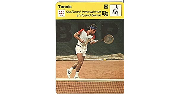1977-79 Sportscaster Card, 43.24 Tennis, Guillermo Vilas at Amazons Entertainment Collectibles Store