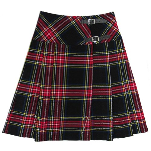 Ladies Plaid Pant Highland (Tartanista Black Stewart 23