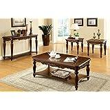 traditional living room furniture sets. 247SHOPATHOME Idf-4915-3PK Living-Room-Table-Sets, Cherry Traditional Living Room Furniture Sets I