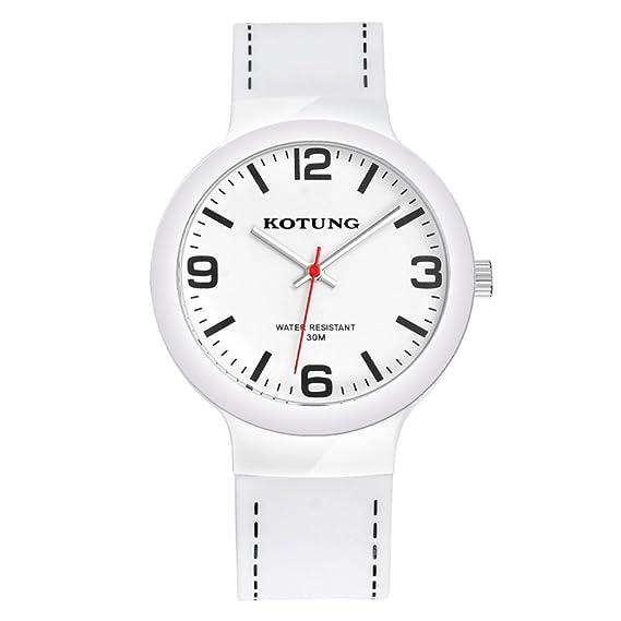 Reloj de cuarzo electrónico de silicio chicas/Jóvenes impermeable reloj/ reloj deportivo casual-