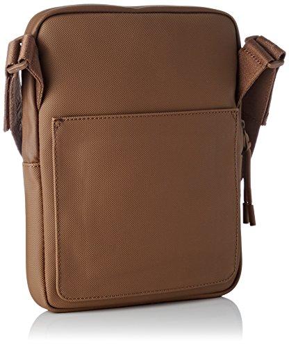 Bag Homme Men's 140 Sac Rubber Access Basic Lacoste Shoulder Brown YTA6xYq