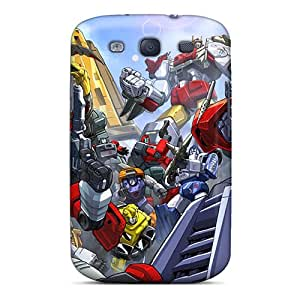 Ksv880SGux Snap On Case Cover Skin For Galaxy S3(autobots)