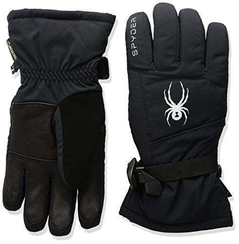 Gore Tex Womens Mitten (Spyder Women's Synthesis Gore-Tex Ski Glove, Black/Silver, Small)