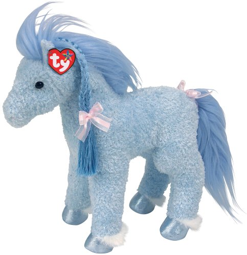 Amazon Com Ty Charming Blue Horse Toys Games
