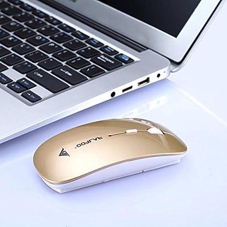 OHQ RatóN 2400 dpi 4 Botones óPticos USB Ratones De RatóN InaláMbrico para Juegos para PC PortáTil RatóN InaláMbrico Y Teclado Auriculares: Amazon.es: ...