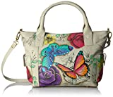 Anuschka Anna Handpainted Leather Women's Convertible Large Tote