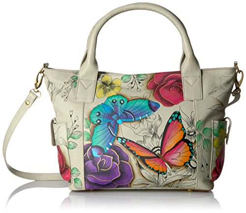 Anuschka Anna Handpainted Leather Women's Convertible Large Tote by Anna by Anuschka