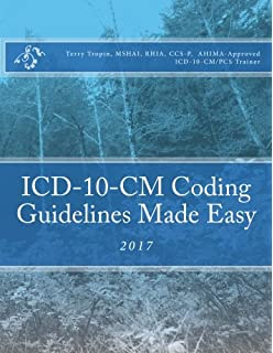 Icd 10 cm and icd 10 pcs coding handbook with answers 2017 rev ed icd 10 cm coding guidelines made easy 2017 fandeluxe Choice Image