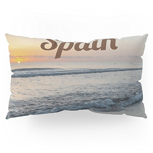 Society6 Time For Spain Pillow Sham King (20'' x 36'') Set of 2 by Society6