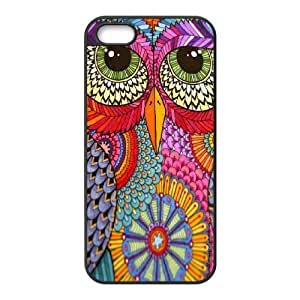 good Diy Customize Aztec Tribal Owl Pattern case cover urnB6oX5Tiz cell phone Cover case cover for iphone 5s Black ZDSVEN