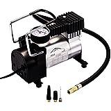 Green Convenience Mini Portable DC12V Multi-Use Heavy-Duty Air Compressor Tire Inflator