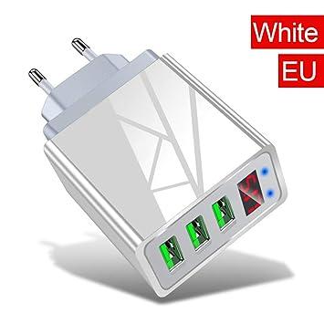 Fast Adaptador De Carga, El Cargador Rápido USB, Enchufe De ...