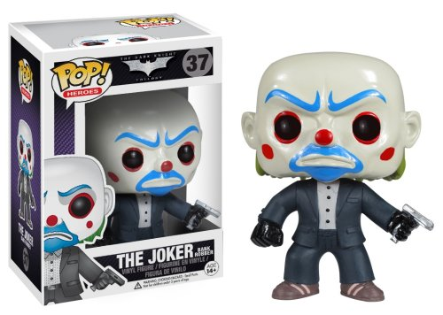 - Funko POP Heroes: Dark Knight Movie Bank Robber Vinyl Figure