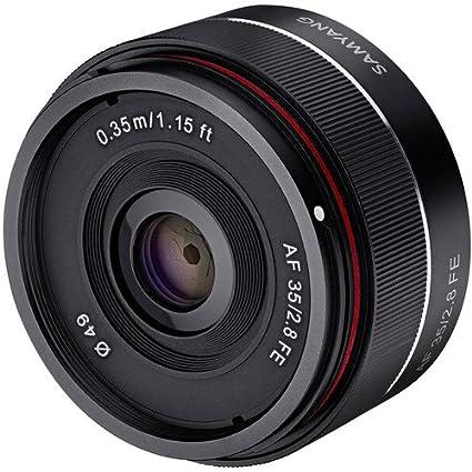 Sony E Mount Full Frame Lenses >> Amazon Com Samyang Syio35af E 35mm F 2 8 Ultra Compact Wide Angle