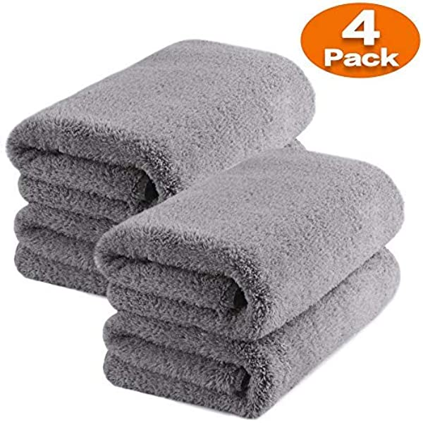 fixget am0032 1200 GSM 3pcs microfibra secado toalla Limpieza ...