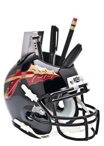 Helmet Desk Caddy (NCAA Florida State Seminoles Helmet Desk Caddy, Black)