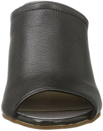 Aldo Dorthy, Zuecos con Tacón Mujer Negro (97 Black Leather)