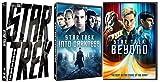 The New Star Trek Movie Trilogy - Star Trek (2-Disc Digital Copy Special Edition), Star Trek: Into Darkness, and Star Trek Beyond 3-Movie Bundle