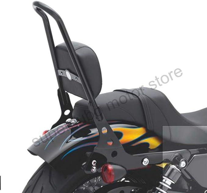 mostrar título original Detalles acerca de  /Pasajero respaldo cojín de Cubo Suave Harley 51132 Sportster XL 883 1200 98-2019+