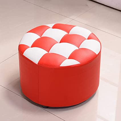 C U0026 S Small Stool Children Leather Chair Adult Living Room Tea Table  Household Fashionable Solid