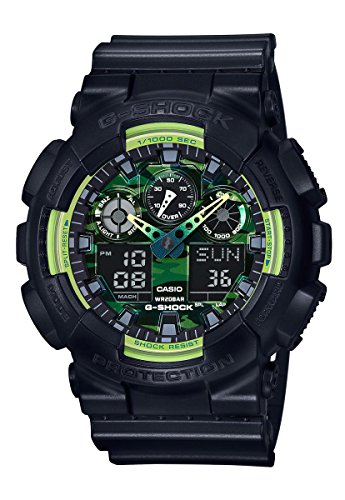 G Shock GA 100 Sporty Illumi Watches