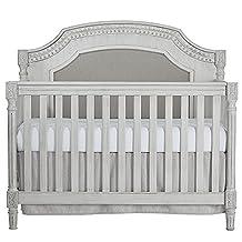 Evolur 837-AM Julienne 5 in 1 Convertible Crib, Antique Grey Mist