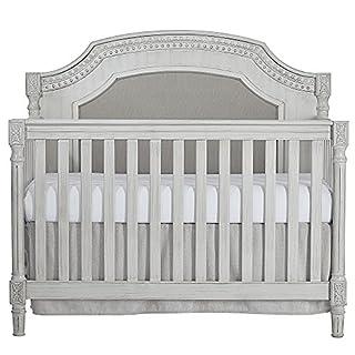 Evolur Julienne 5 in 1 Convertible Crib, Antique Grey Mist