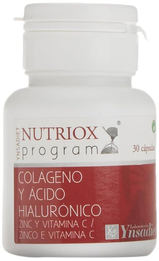Nutriox Colágeno + Acido Hialurónico Fortigel - 30 Cápsulas