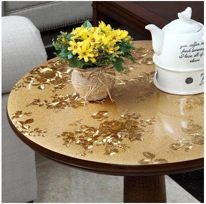 BLUELSS Mesa Redonda personalizada mat mantel Café ...