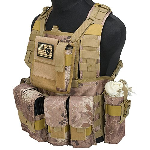 Evike Matrix Special Operations RRV Style Chest Rig - Arid Serpent - (54989)