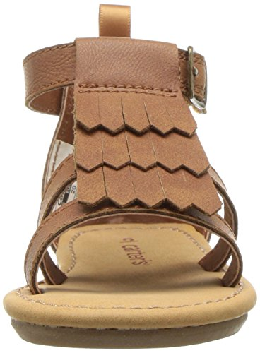 Carter's Girls' Chary Fashion Sandal, Brown, 9 M US Toddler by Carter's (Image #4)
