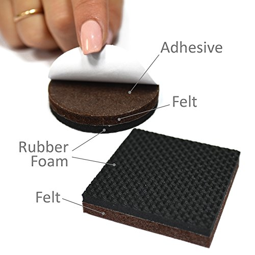 PREMIUM NON SLIP Furniture Pads ...