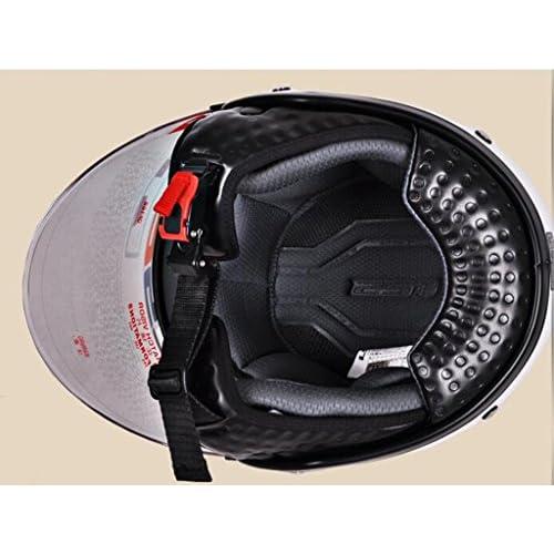 Objectif Double moto voiture électrique Casque Casque Casque d'hiver Hommes casque et femmes Hat (XL)