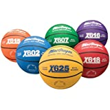 MacGregor Basketball Prism Pack, Official Size, Multicolor (Pack of 6)