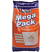 Now Foods Whey Protein Isolate Unflavored - 10 lbs. 6 Pack