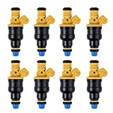 #2: LiNKFOR 0280150943 0280150718 8 Pack Matched Fuel Injectors For F150 F250 F350 93-03 5.0 5.8 4.6 5.4