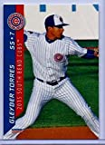 "GLEYBER TORRES 2015"" 1ST EVER PRINTED CHOICE ROOKIE CARD #25! SOUTH BEND CUBS/NEW YORK YANKEES!"