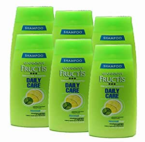 Garnier Fructis Shampoo Daily Care 1.7Oz (Pack of 6)