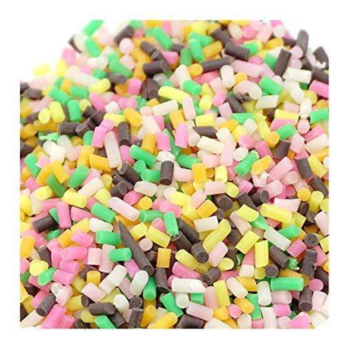 callm Colorful Styrofoam Sugar Sprinkles Decorative Slime DIY Craft for Crunchy Slime