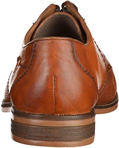 24 Cordones de Hombre 11615 para Derby Rieker Obermaterial Zapatos Brown Leder w5OYnqnXxR