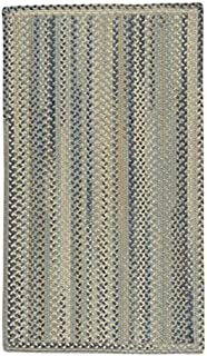 "product image for Capel Melange Beige Multi 8' 0"" x 11' 0"" Vertical Stripe Rectangle Braided Rug"