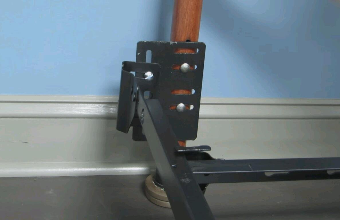 711 Bolt On To Hook On Bed Frame Conversion Brackets With Hardware