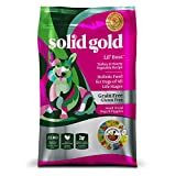 Solid Gold Lil' Boss Holistic Dry Dog Food, Turkey & Vegetable, Grain & Gluten Free, Active Dogs of All Life Stages, Small, 12lb Bag