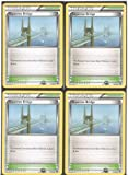 x4 Skyarrow Bridge - Trainer-Stadium (Next Destinies #91/99) Pokemon Card Playset