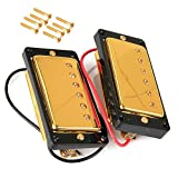 LIPOVOLT® SET OF Gold Sealed Humbucker Pickup For Gibson Les Paul LP EPIPHONE Guitar
