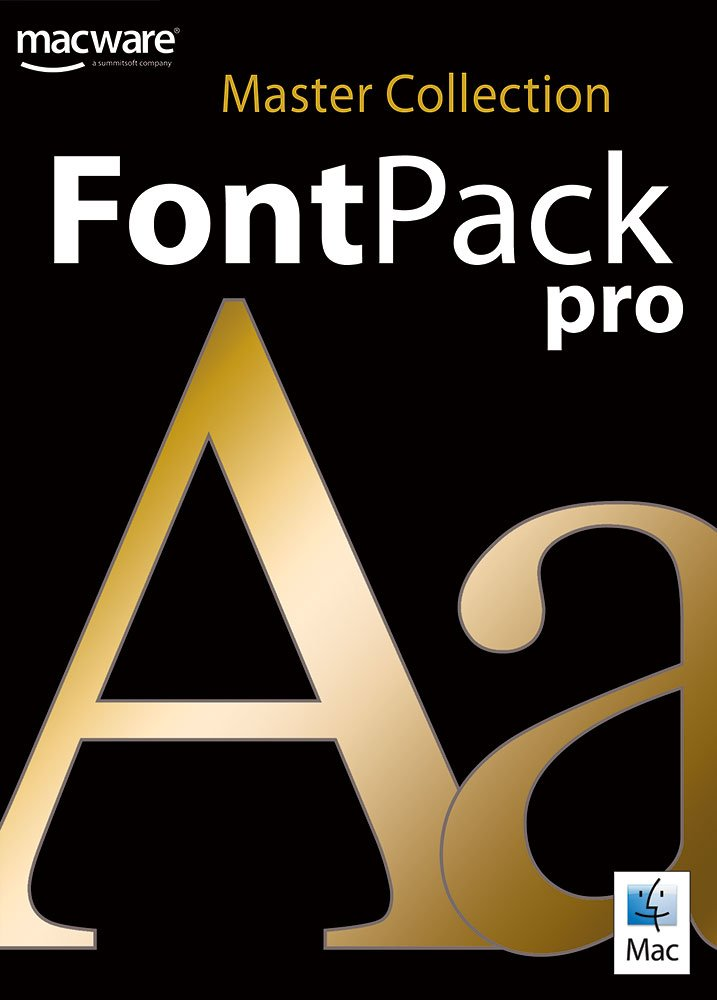 FONT PACK PRO MASTER COLLECTION MAC [Download] by Summitsoft