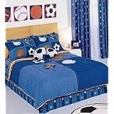 Balls Soccer (Pelotas) Comforter Kids Bedding Set Twin by NYRI