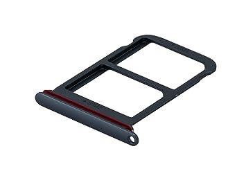 ICONIGON Reemplazo para P20 Pro Dual (CLT-L29) SIM Card Tarjetas Soporte con Junta (Azul)